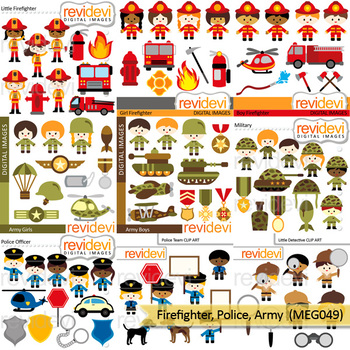 Asian clipart soldier. Firefighter police army community