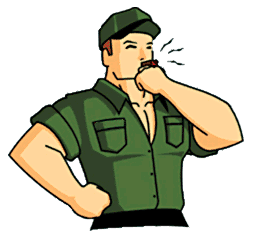 In writing necessary or. Army clipart discipline