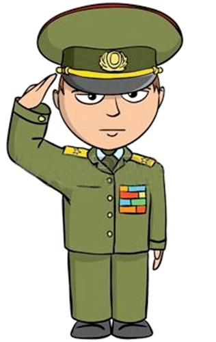 Military etiquette daily news. Army clipart discipline