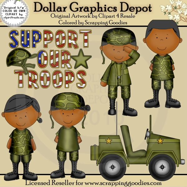 Army clipart group soldier. Military troops