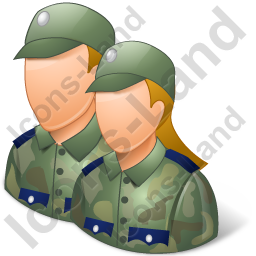 Soldiers icon ai icons. Army clipart group soldier