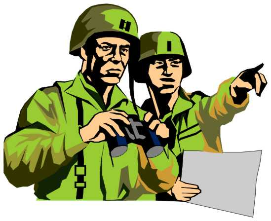 Soldiers . Army clipart group soldier