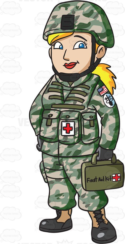 Military clipart army doctor. Kid clip art library