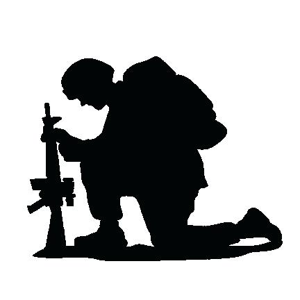 Military clipart. Silhouette clip art at