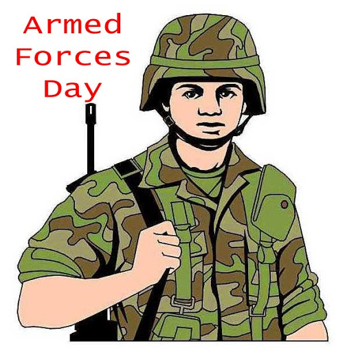 Army clipart military force.  armed forces day