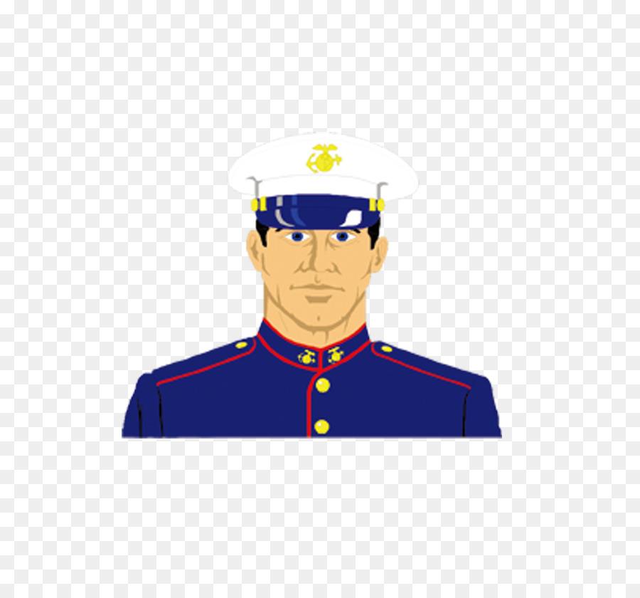 Army clipart military force. Cartoon officer clip art