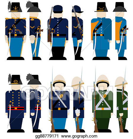 Drawing the armed forces. Army clipart military force