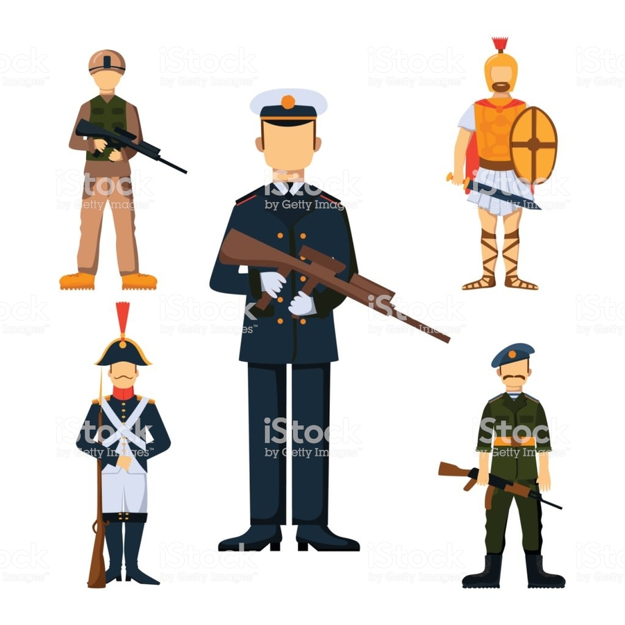 Download cartoon armed forces. Army clipart military force