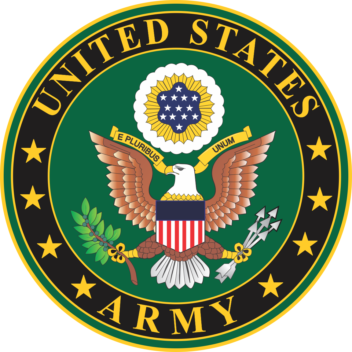 U s seal patch. Army clipart patches