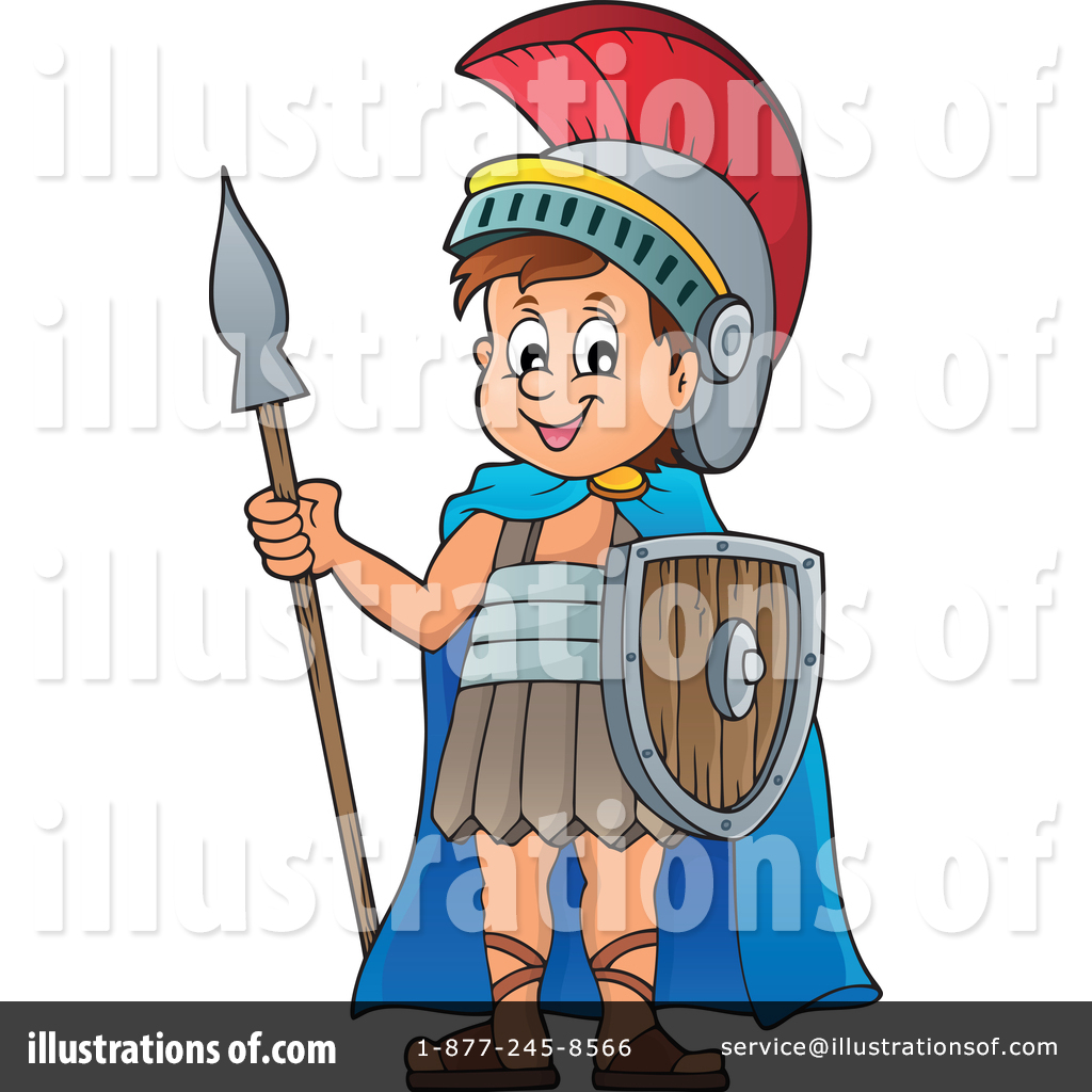 Soldier illustration by visekart. Army clipart roman