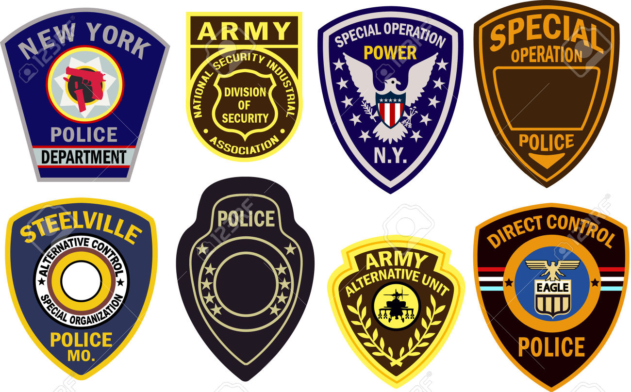 Army clipart shield. Military badge