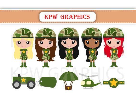 army clipart small army