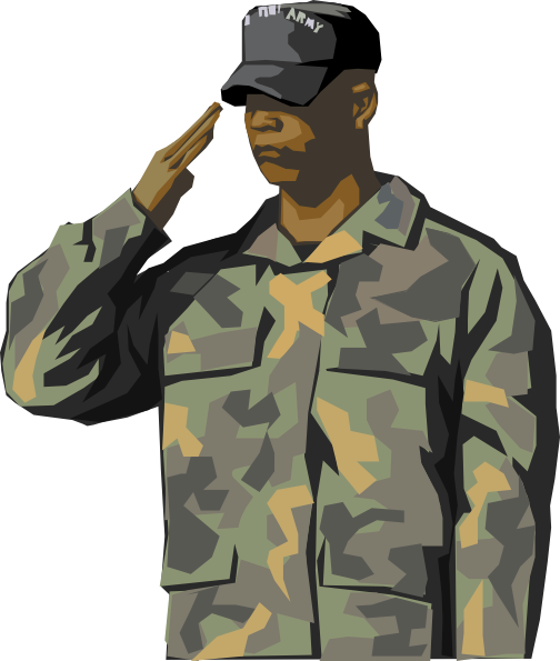Soldier clip art at. Army clipart small army
