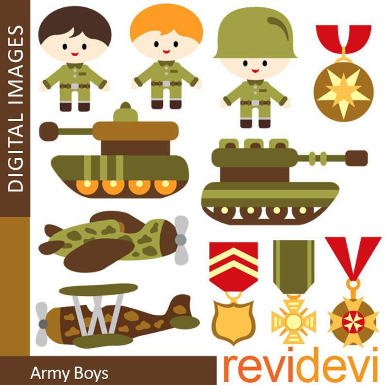 Army clipart small army. Military tank medals emblem