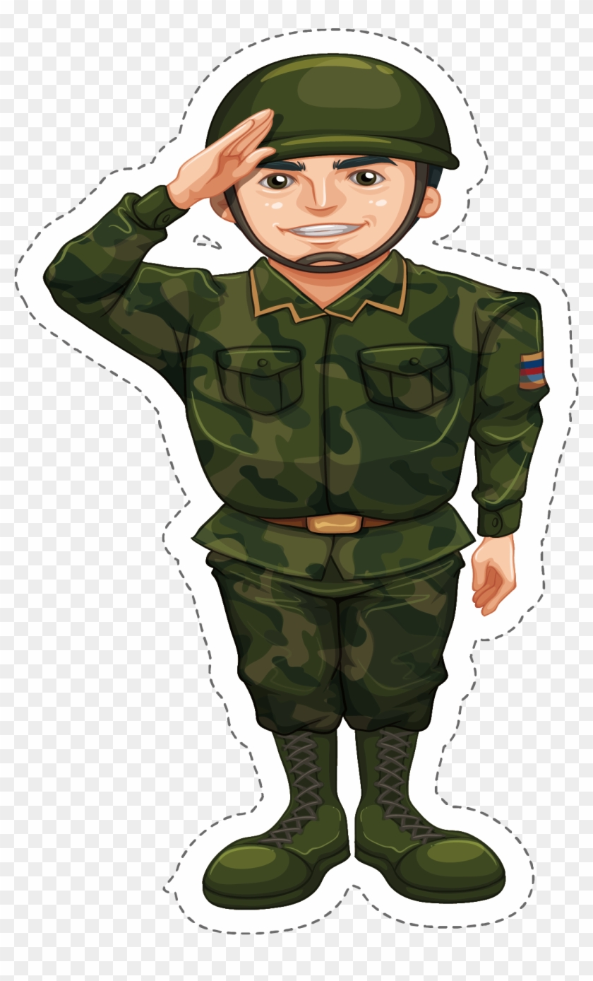 Soldiers clipart army officer. Png transparent download soldier