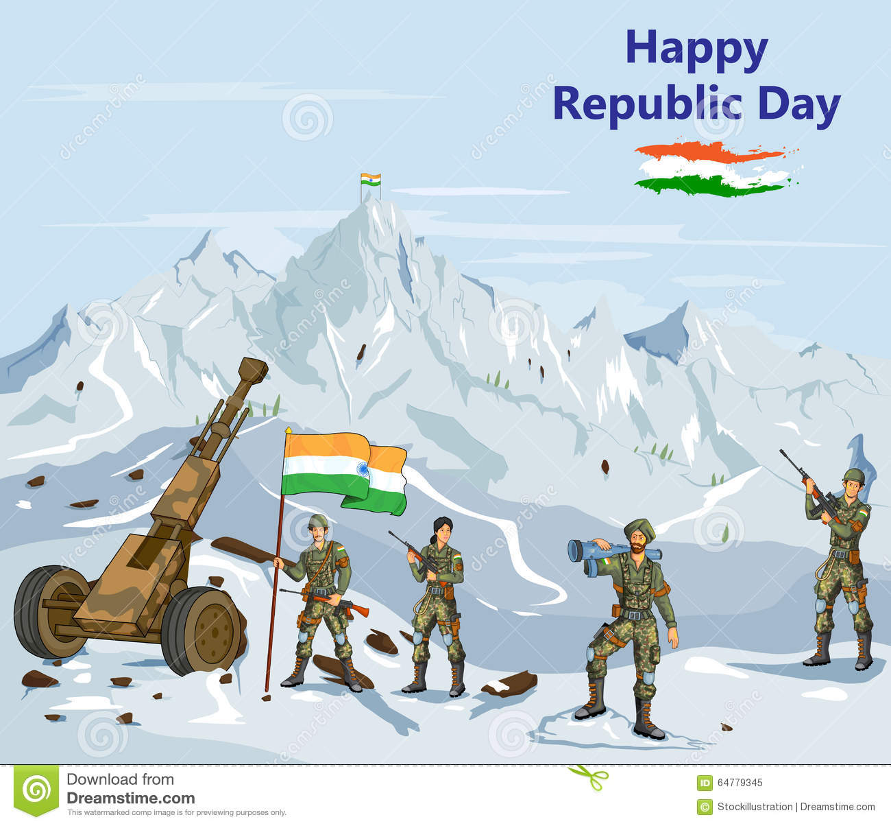 Station . Army clipart soldier indian