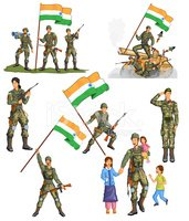 Army soldier indian