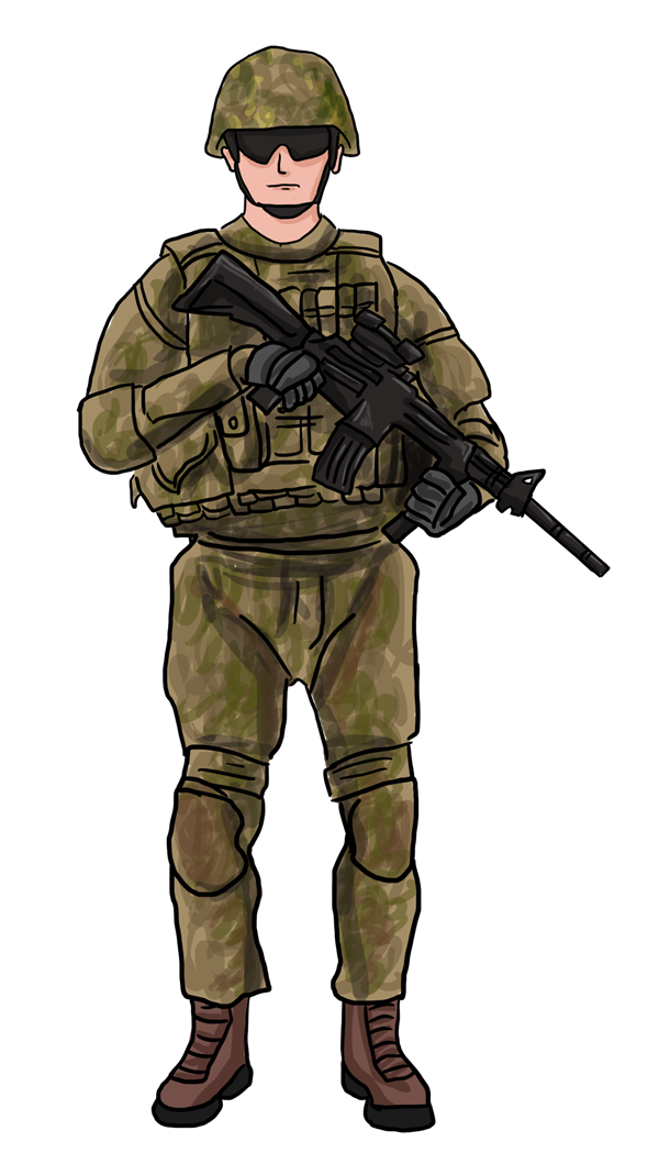 Military soilder many interesting. Army clipart soldier indian