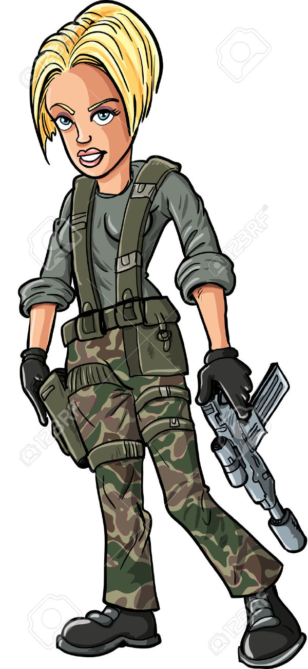 Army clipart soldier us. Woman free collection download