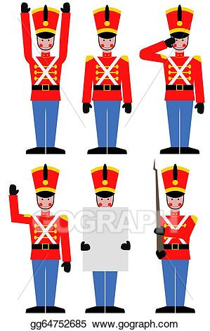 Drawing toy soldier gg. Army clipart toys