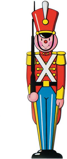 Army clipart toys. Christmas toy soldier soldiers