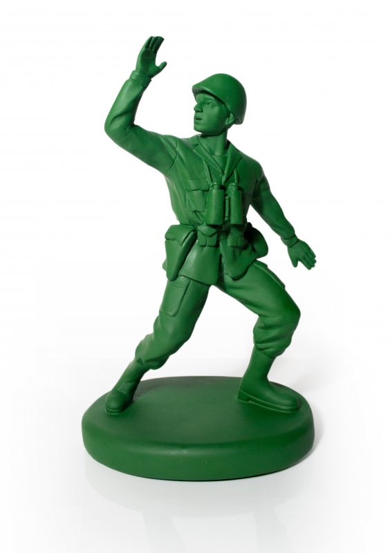 Army clipart toys. Home guard doorstop bookend