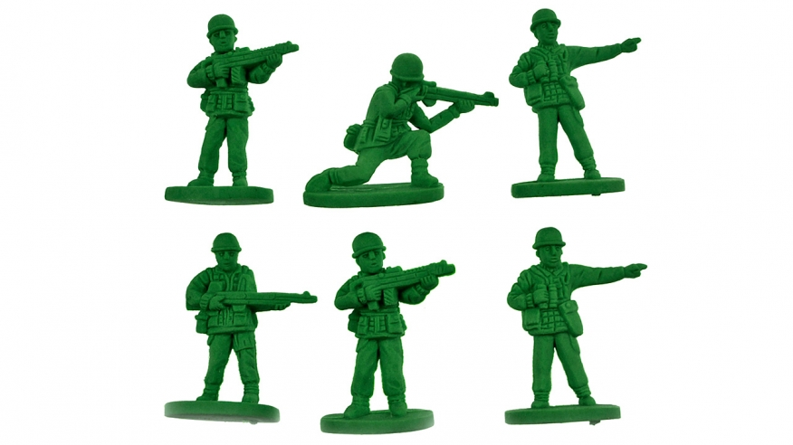 Green men toy story. Army clipart toys