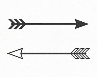 Arrowhead clipart tribal. Arrow etsy
