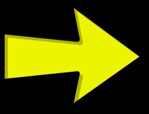 Yellow clipart . Arrow clip art artistic