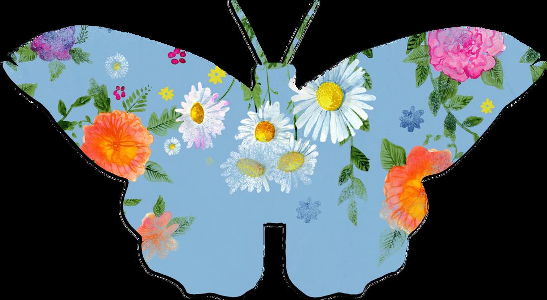 Clipart butterfly bee. Png modern clip art