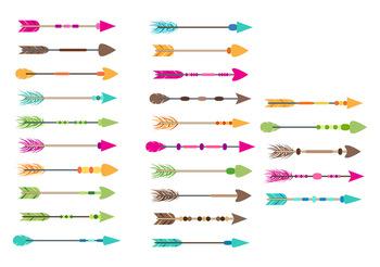 colorful arrows tribal. Boho clipart arrow