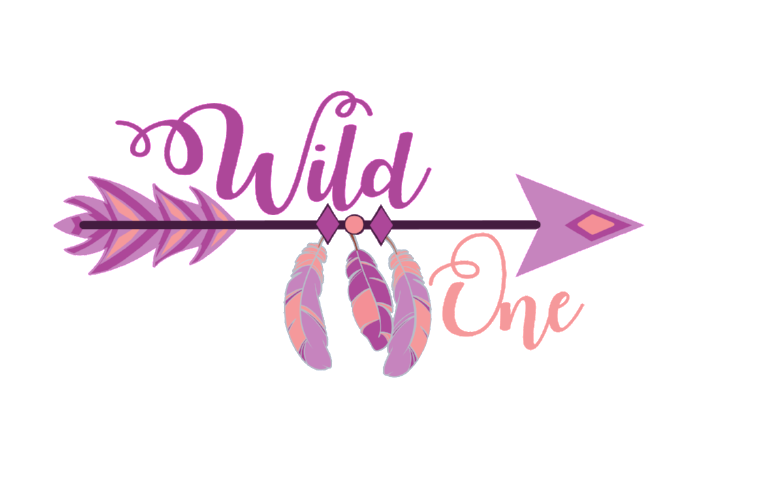 Arrow clip art boho. Wild one svg cut