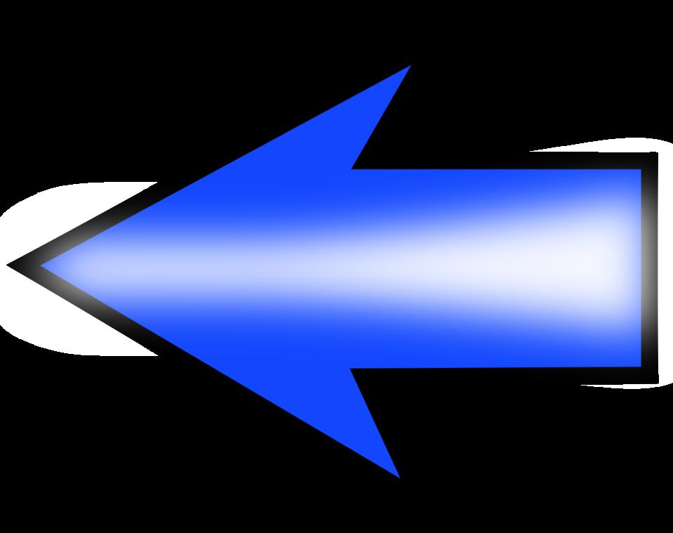 Public domain image blue. Arrow clip art clear background