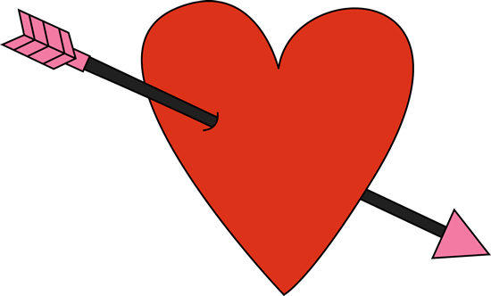 Arrow clip art cute. Red valentine s day