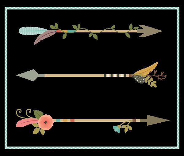 Arrow clip art decorative. How to create nature