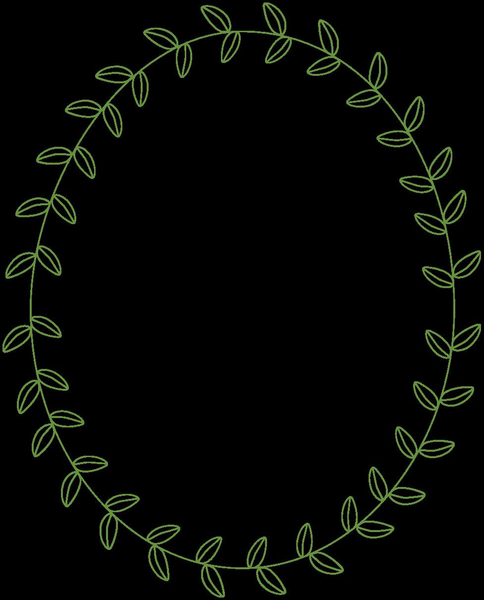 Free laurel frames arrows. Clipart circle leaf