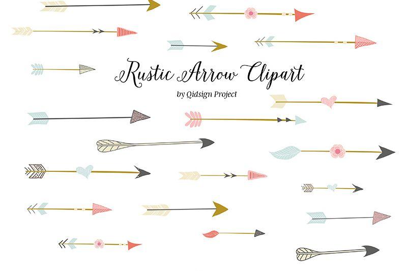 Png . Arrow clipart rustic
