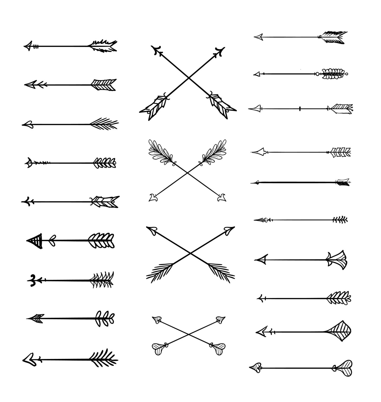 Arrows clipart rustic. Free arrow cliparts download
