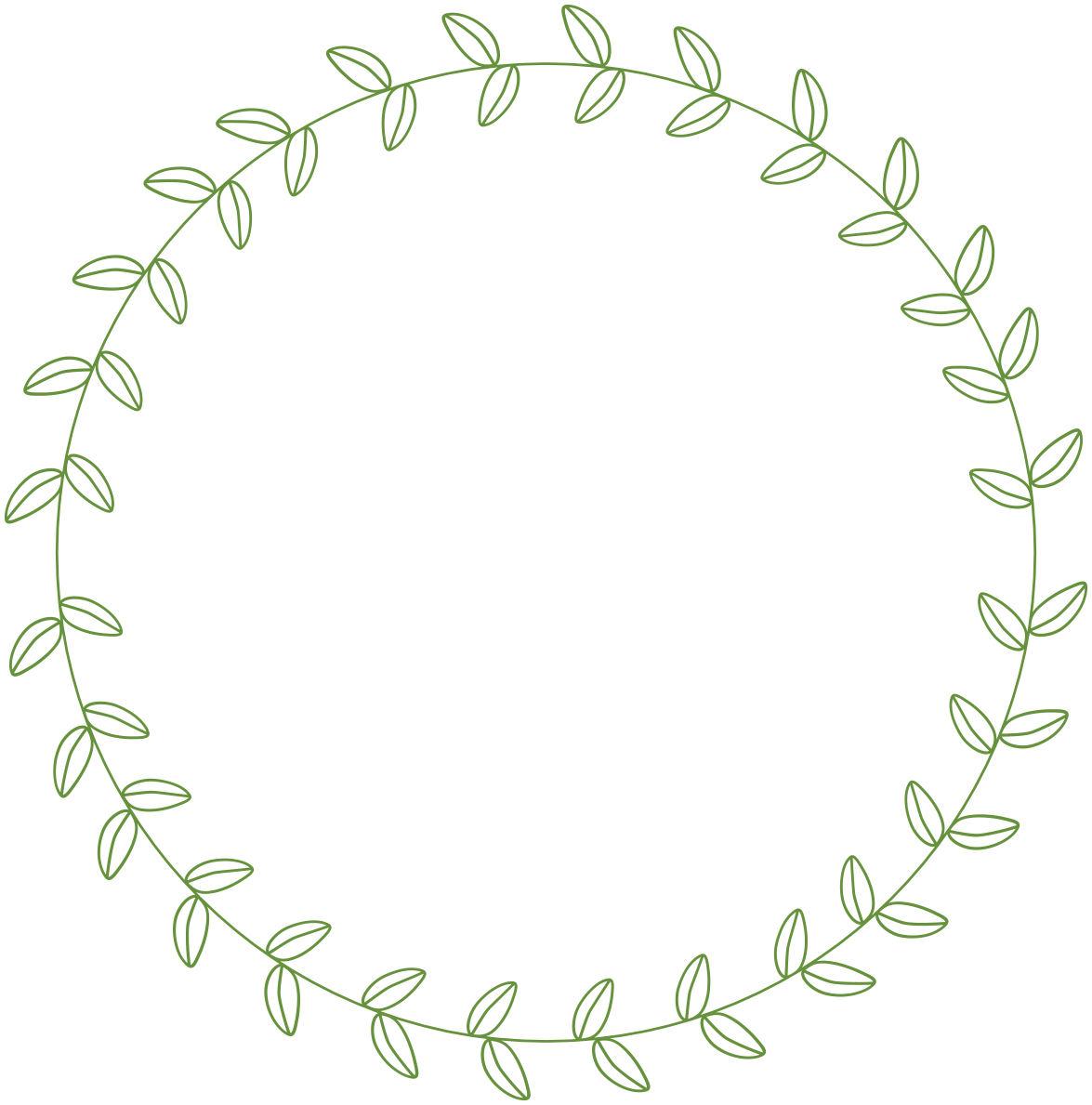 Circle leaf google search. Square clipart beautiful border