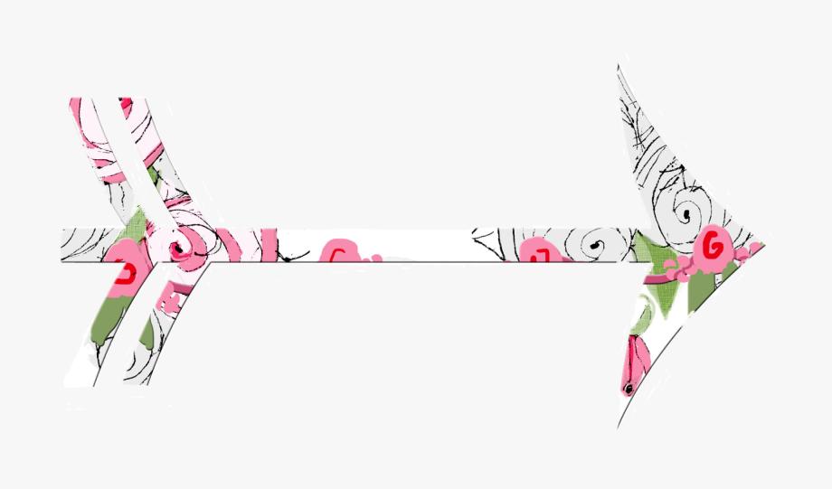 Arrows clipart shabby chic. Arrow clip art flowers
