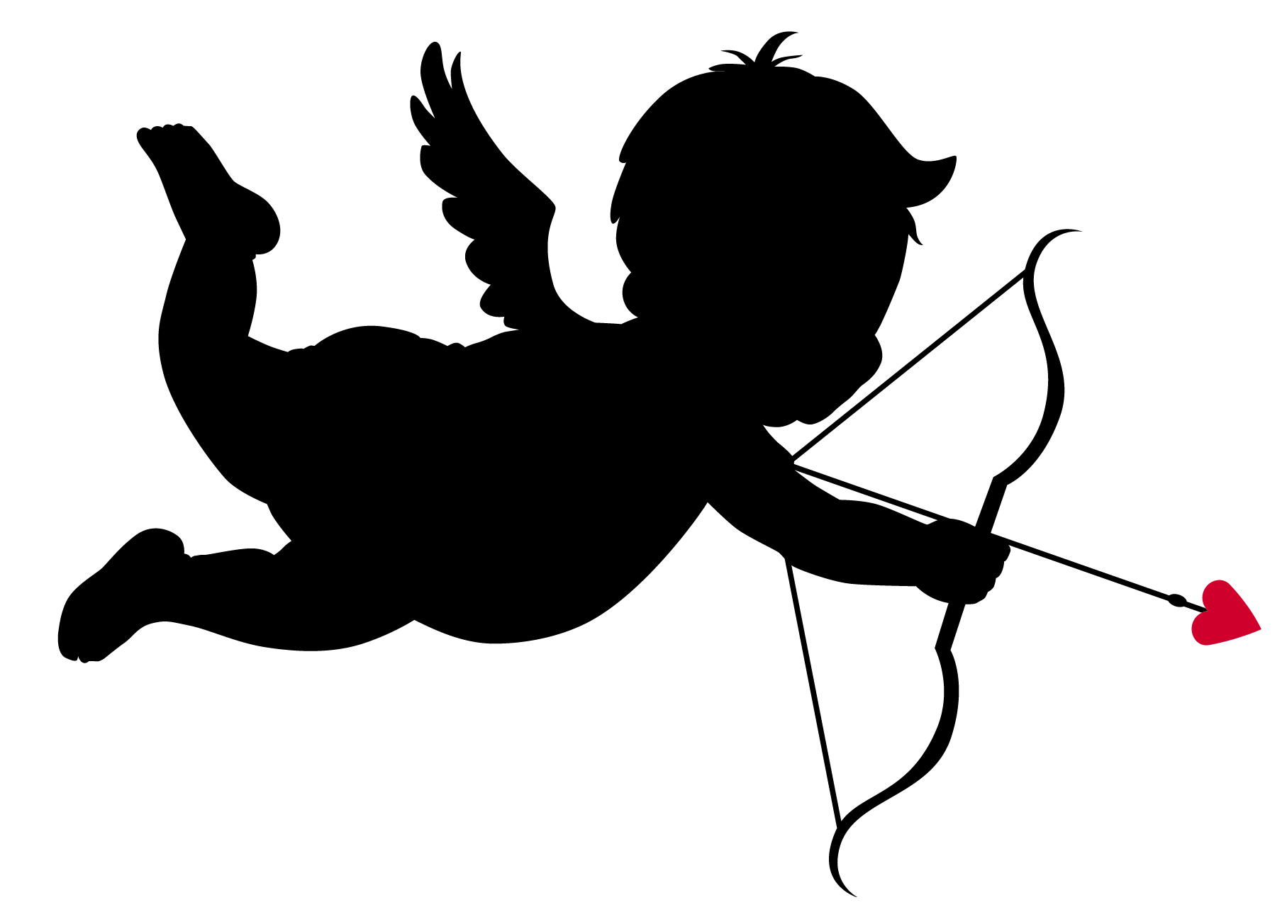 Arrow clip art silhouette. At getdrawings com free