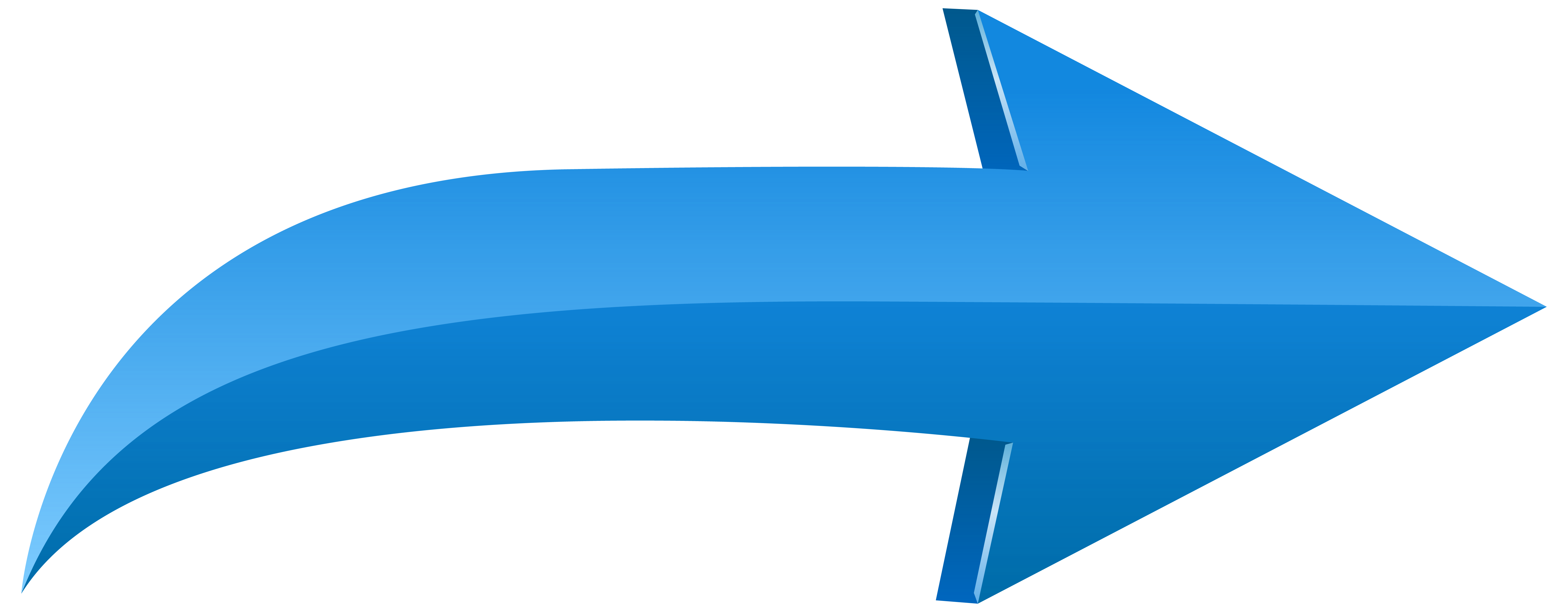 Clipart arrows. Arrow left blue png