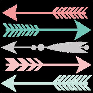 Arrow clip art trendy. Everyone should follow their