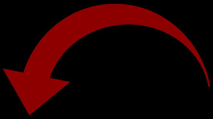 Arrow clip art trendy. Curved cliparts co arrows