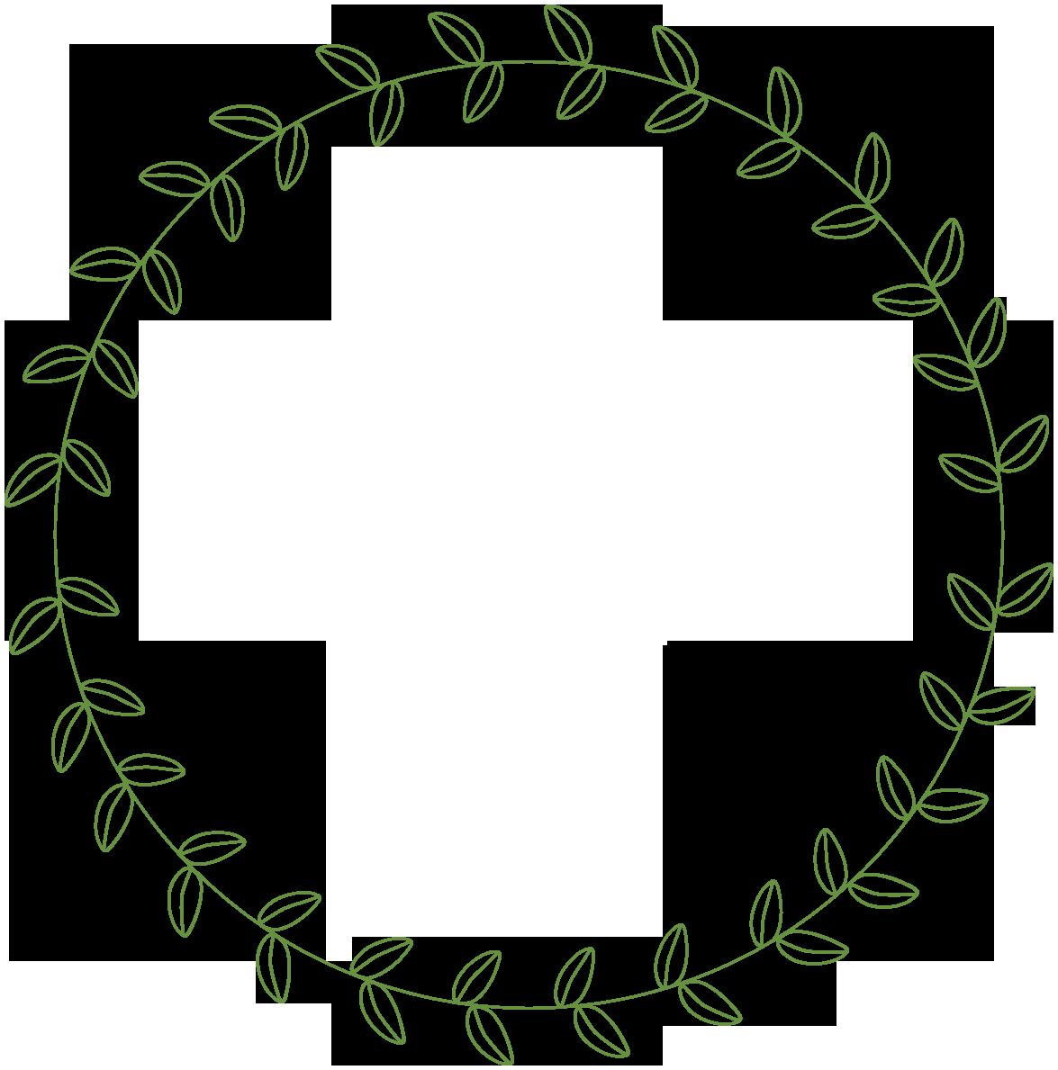 Line circle pencil and. Grape clipart wreath
