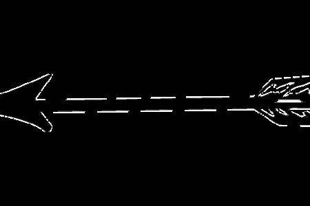 Arrow clip art tribal. Clipart black and white