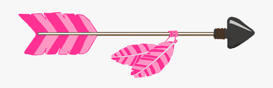 Arrow clipart. Pink tribal png free