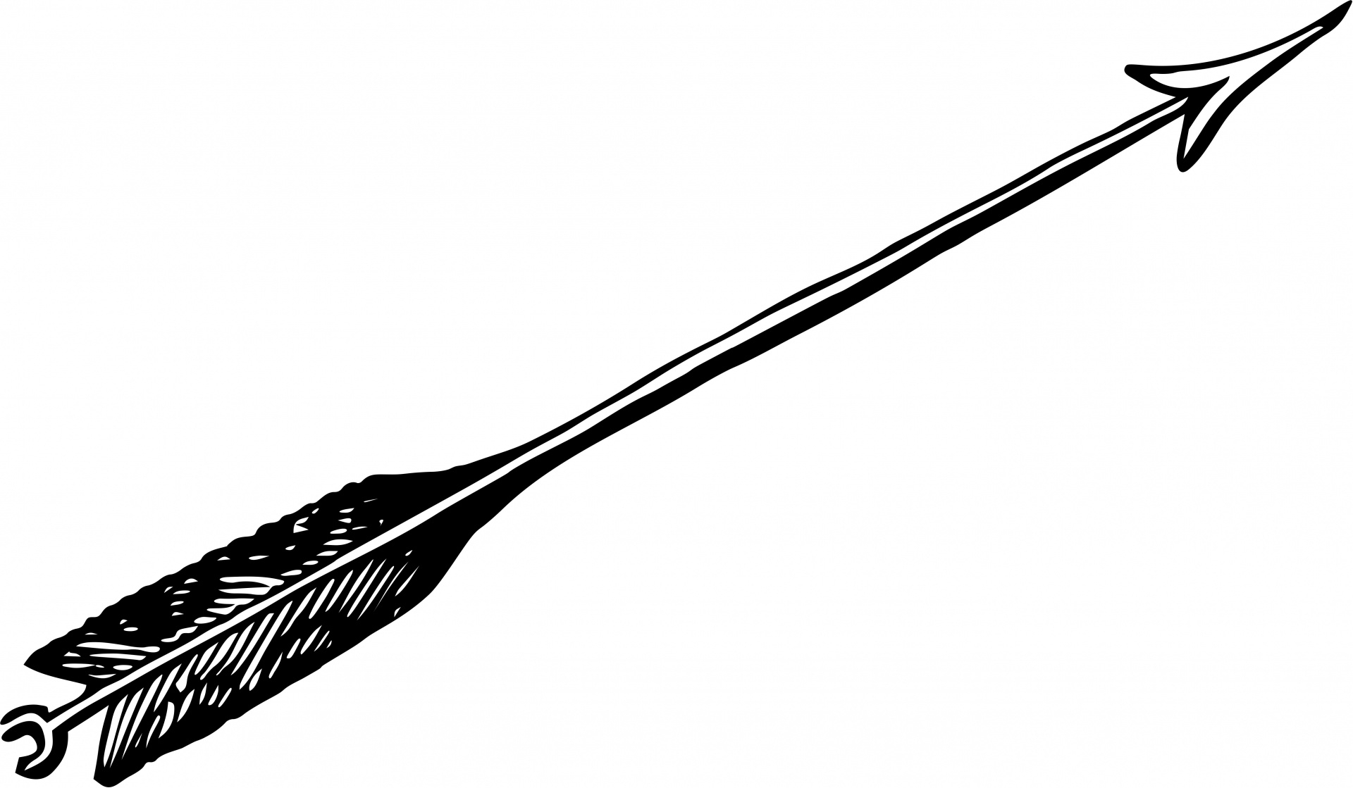Awesome gallery digital h. Arrow clipart black and white