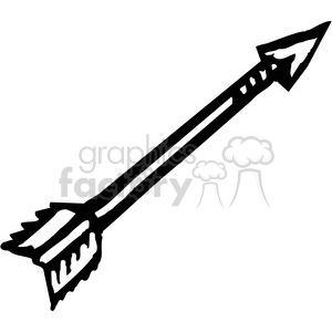 Arrows clipart vector. Royalty free black and