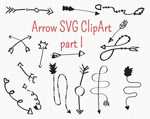 Arrow svg circle vector. Arrows clipart calligraphy